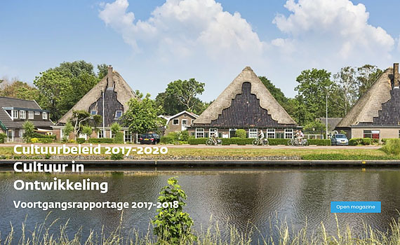 Magazine 'Cultuur in Ontwikkeling voortgangsrapportage 2017-2018'